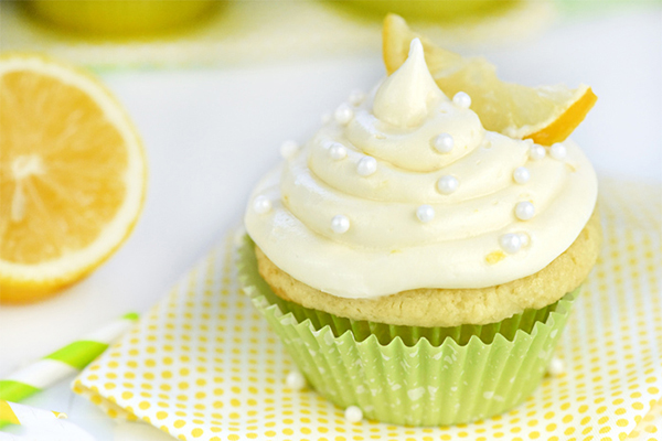 Lemon cupcake-a