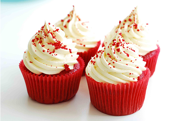 Red waffle cupcakes-a