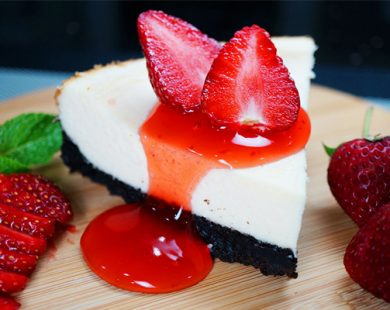 Strawberry Cheese Cake Secret